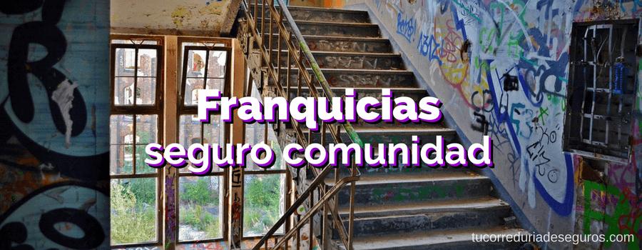 Franquicias Seguros Comunidades