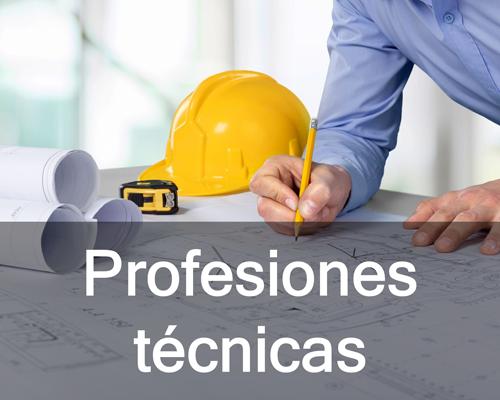 Estudios de arquitectura, topografía e ingeniería.