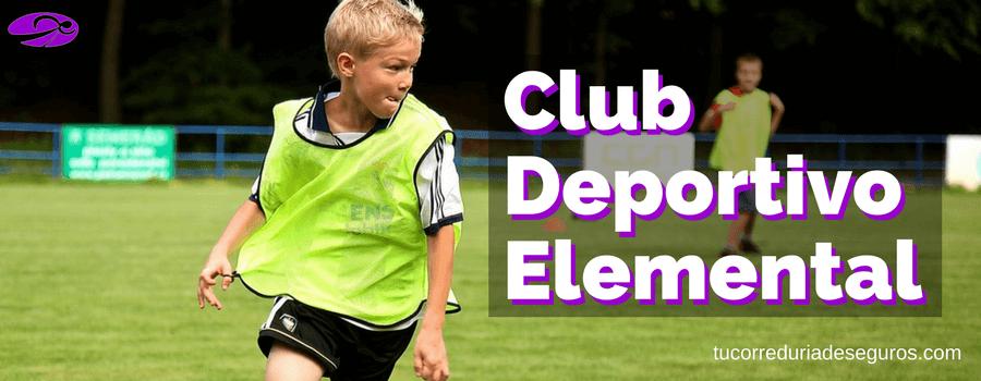 Qué Es Un Club Deportivo Elemental