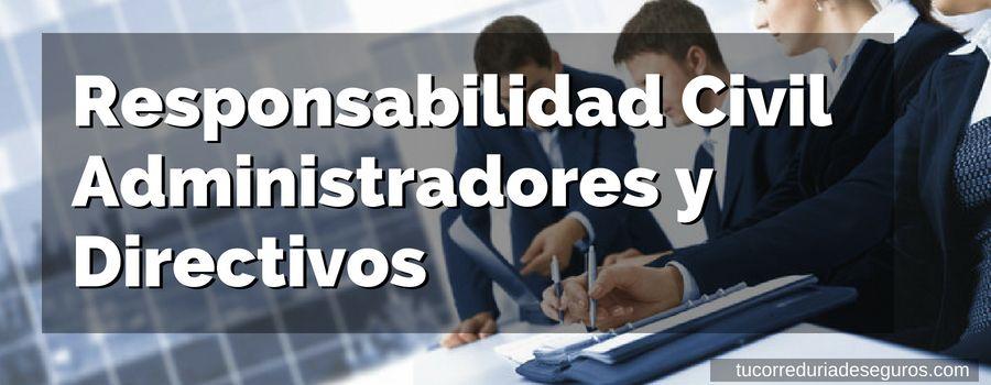 Las Claves De La Responsabilidad Civil De Administradores Y Directivos (D&O)