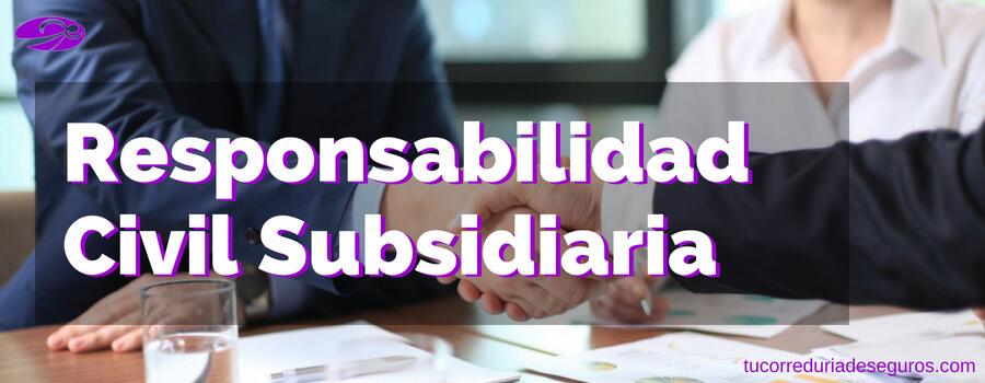 Cómo Funciona La Responsabilidad Civil Subsidiaria