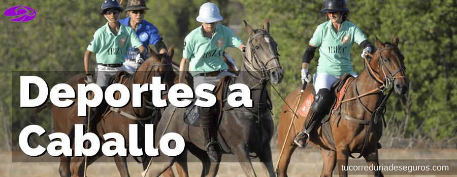 Deportes A Caballo