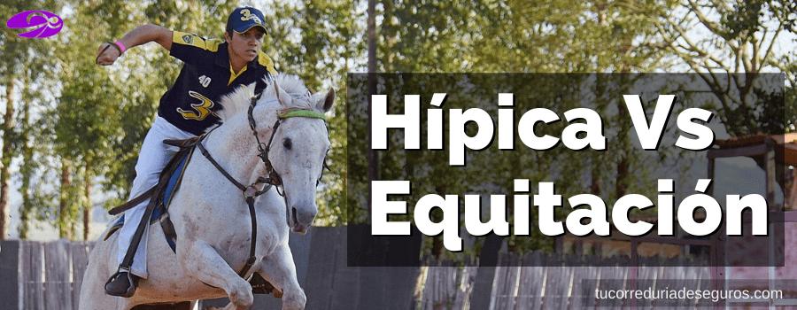 Diferencia Entre Hipica Y Equitacion