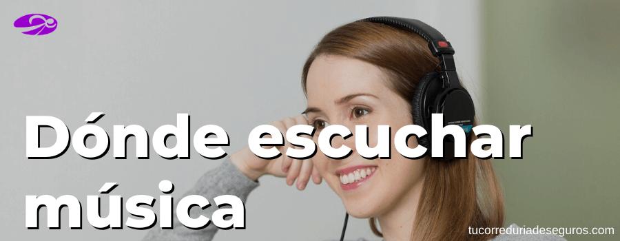 Donde Escuchar Musica Online