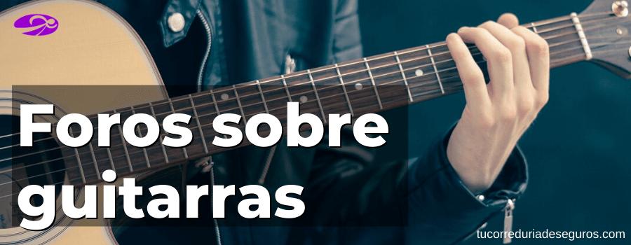 Foros Sobre Guitarristas Y Paginas Webs
