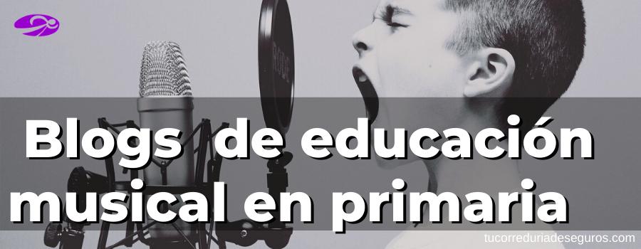 Blogs recomendados de educación musical en primaria