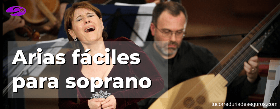 Arias Fáciles Para Soprano