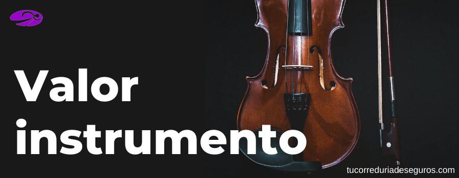 demostrar valor instrumento musica