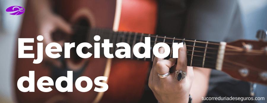 ejercitador dedos guitarristas