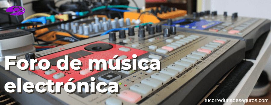 foro de música electrónica