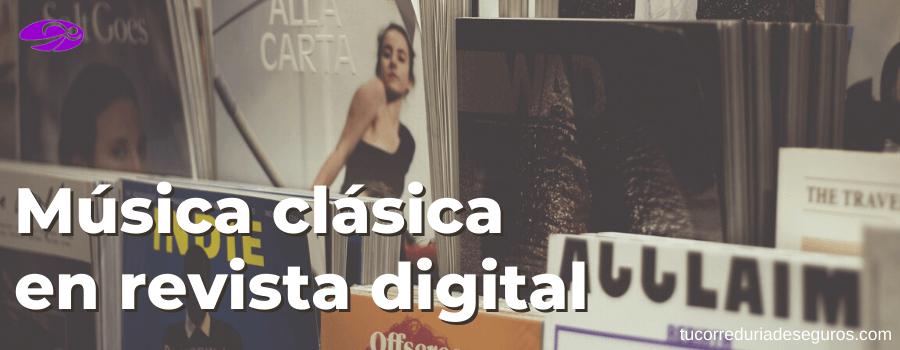Música Clásica En Revista Digital