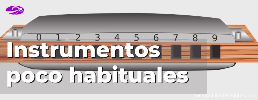 Instrumentos Poco Habituales
