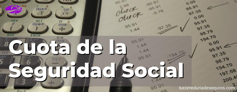 Cuota De La Seguridad Social