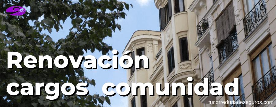 Renovación De Cargos En Una Comunidad