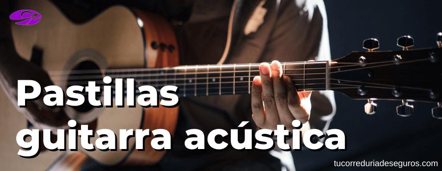 Pastillas Para Guitarra Acustica