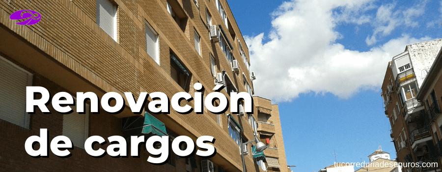renovacion de cargos en comunidad de propietarios