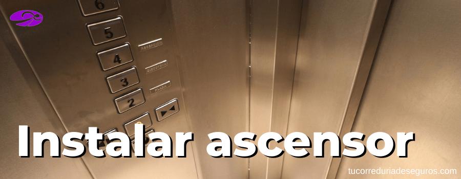 ayudas para instalar ascensor