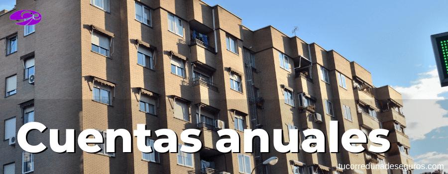 cuentas anuales comunidad de propietarios